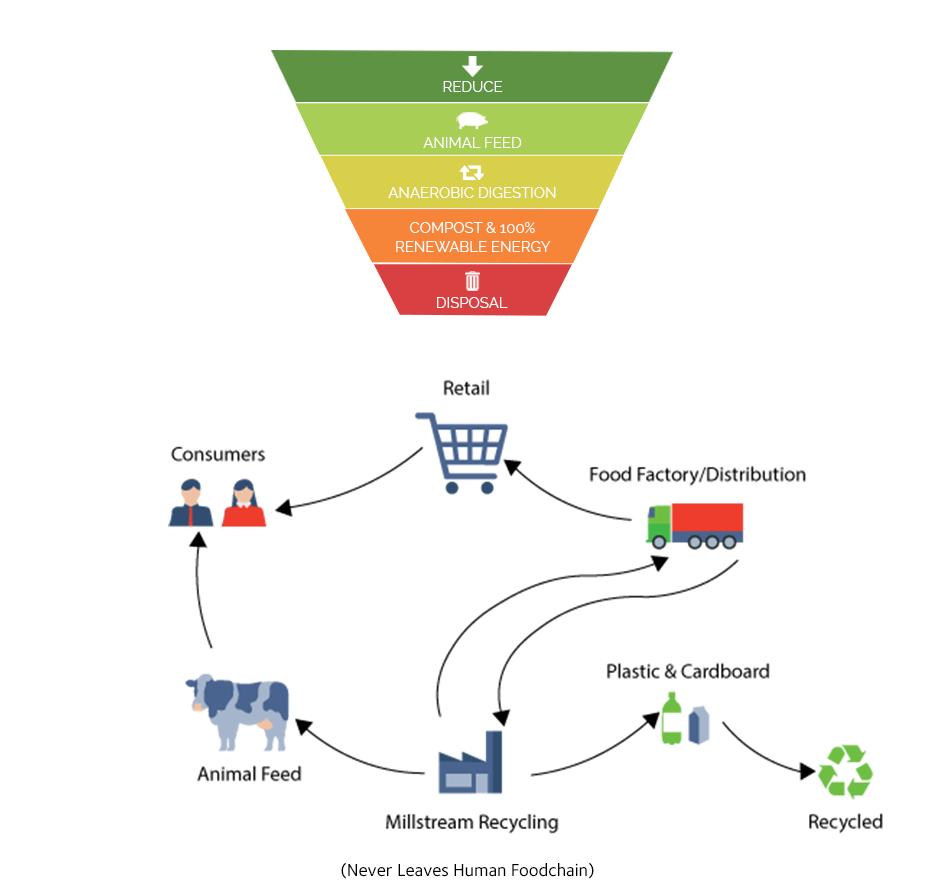 The Food Waste Hierarchy